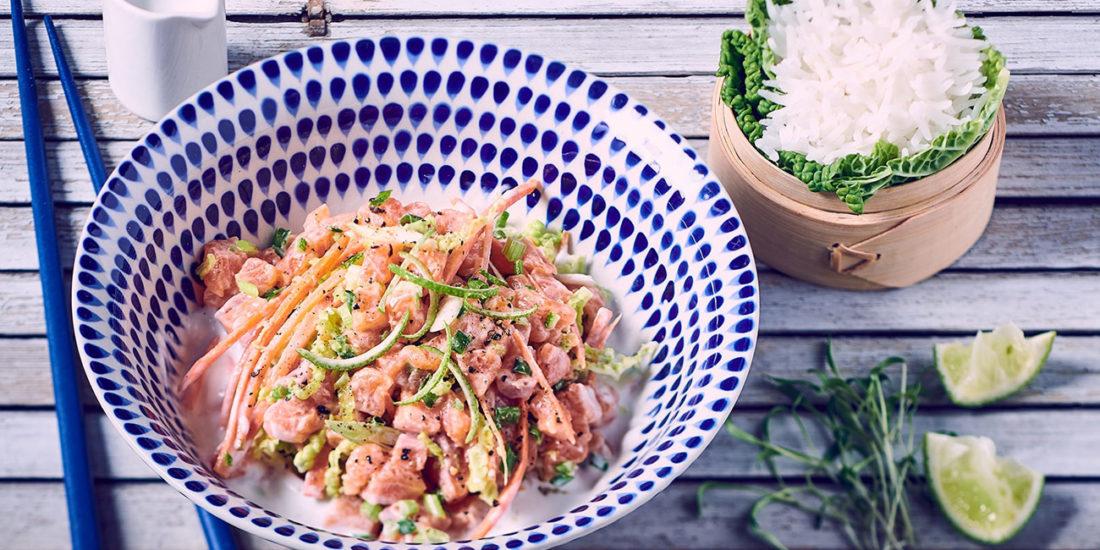 recette truite thai