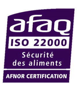 Certification ISO 22000.